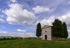 Toscaanse kapel Royalty-vrije Stock Foto's