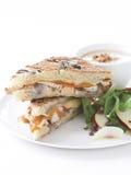 Toscaanse kip en witte bonesoep Stock Foto