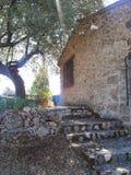 Toscaanse landelijke villa Stock Afbeelding
