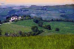Toscaanse Landshape Royalty-vrije Stock Foto's