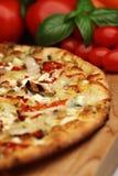 Toscaanse pestopizza Stock Afbeelding