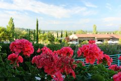 Toscaanse schoonheid Royalty-vrije Stock Afbeelding