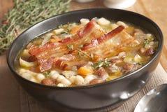 Toscaanse soep stock afbeeldingen