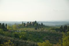Toscana Foto de Stock Royalty Free