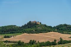 Toscana bygd Arkivfoton