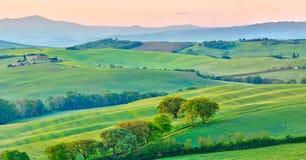 Toscana en la primavera fotos de archivo