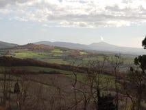 Toscana hills royalty free stock photography