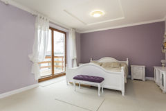 Toscana - dormitorio imagenes de archivo