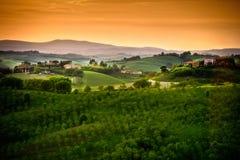 Toscana - Italia imagenes de archivo