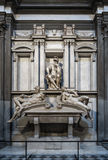 Toscana Italy. Michael Angel, Chapel Medicea, New Sacristy of The St Lawrence, Florence Stock Photography