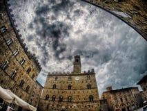 Toscana Italy Voltera Ancient city Royalty Free Stock Images