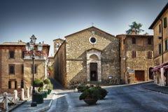 Toscana - Montalcino Стоковое Изображение RF