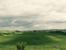 Toscana natur fotografering för bildbyråer