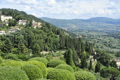 Toscana. Picturesque Toscany summer. Fiesole Landscape Stock Photo