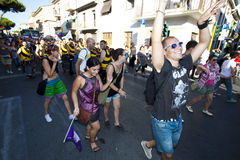 Toscana Pride 2012 Stock Photos