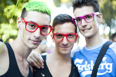 Toscana Pride 2012 Stock Photo