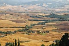 Toscana someday. Toscana somewhere in a summer day Stock Photos