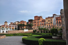 Toscana Valley Housing Royalty Free Stock Images