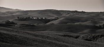 Toscane B/W Image stock