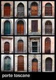 Toscane di Porte Fotografia Stock Libera da Diritti