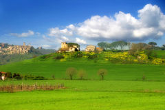 Toscanië. stock foto