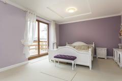 Toscanië - slaapkamer stock afbeeldingen