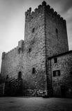 Toscanië - Castellina in Chianti stock afbeelding