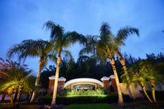 Toscanië in de palmgemeenschap van Tamper Stock Foto's