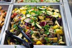 Toscanië geroosterde groenten Royalty-vrije Stock Foto