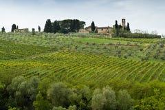 Toscanië, Italië Stock Afbeelding