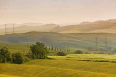 Toscanië, Italië Stock Foto