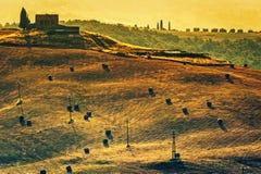 Toscanië - Italië Stock Foto