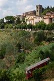 Toscanië, montecatinialt Royalty-vrije Stock Afbeelding