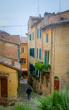 Toscanië - Montepulciano Royalty-vrije Stock Foto