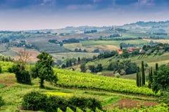 Toscanië, Italië Stock Foto's