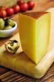 Toscano de Pecorino, queso italiano de las ovejas, típico de Toscana Fotografía de archivo libre de regalías
