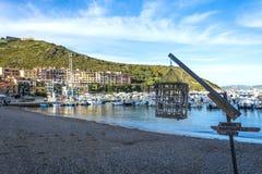 Toscany-Hafen ercole Stockfotografie