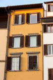Toscany Italian house style. Typical toscany italian house in Florence stock images