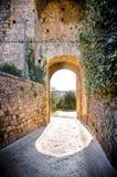 Toscany Monteriggioni Royaltyfria Bilder