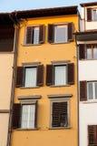Toscany utformar det italienska huset Arkivbilder