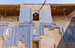 Tosh Hovli宫殿在Khiva,乌兹别克斯坦 库存照片
