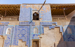 The Tosh Hovli Palace in Khiva, Uzbekistan. The Tosh Hovli Palace, in the fortress Ichon-Qala, the old town of Khiva, in Uzbekistan stock photo