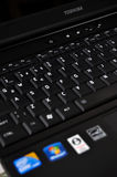Toshiba laptop Stock Photos