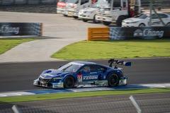 Toshihiro Kaneishi av KEIHIN VERKLIGA RACING i GT500 Qualiflying Ca Fotografering för Bildbyråer