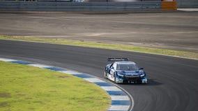 Toshihiro Kaneishi av KEIHIN VERKLIGA RACING i GT500 Qualiflying Ca Royaltyfri Foto