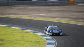 Toshihiro Kaneishi di CORSA REALE di KEIHIN in GT500 Qualiflying Ca Fotografia Stock Libera da Diritti