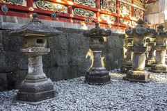 Nikko, Japan. Tosho-gu, a Shinto shrine dedicated to Tokugawa Ieyasu, the founder of the Tokugawa shogunate, located in Nikko, Japan. A World Heritage Site since royalty free stock images