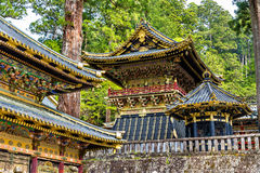 Tosho-gu, a Shinto shrine in Nikko. Japan stock photography