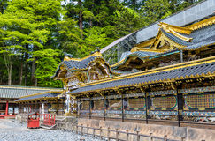 Tosho-gu, a Shinto shrine in Nikko. Japan royalty free stock photography