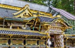 Tosho-gu, um santuário xintoísmo em Nikko imagens de stock royalty free